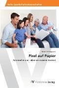 Pixel Auf Papier