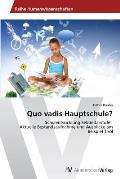 Quo vadis Hauptschule?
