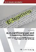 Elsa-Zertifizierungen Und E-Learning-Aktivitaten
