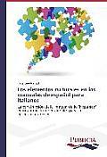 Los Elementos Culturales En Los Manuales de Espanol Para Italianos