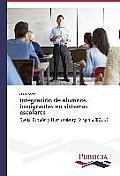Integraci?n de alumnos inmigrantes en sistemas escolares