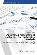 Automated measurement evaluation for combustion analysis