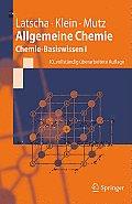 Allgemeine Chemie: Chemie-Basiswissen I