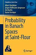 Probability in Banach Spaces at Saint-Flour