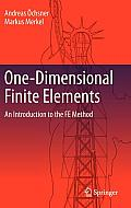 One Dimensional Finite Elements An Introduction to the FE Method