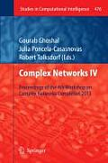 Complex Networks IV: Proceedings of the 4th Workshop on Complex Networks Complenet 2013