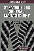 Strategie Des General-Management: Ausweg Aus Der Krise
