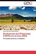 Evaluacion del Programa Fappa En El Ano 2008