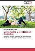 Universidad y Territorio En Colombia