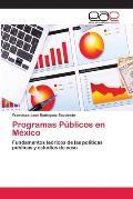 Programas Publicos En Mexico