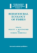 Behavioural Ecology of Fishes