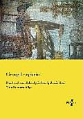 Handbuch der elektrolytischen (galvanischen) Metallniederschl?ge