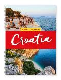 Croatia Marco Polo Travel Guide with pull out map