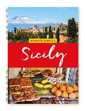 Sicily Marco Polo Travel Guide with pull out map