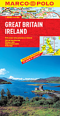 Great Britain Ireland Marco Polo Map