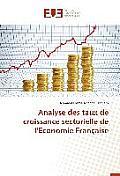 Analyse Des Taux de Croissance Sectorielle de l'Economie Fran?aise