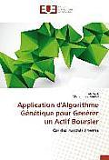 Application d'Algorithme G?n?tique Pour G?n?rer Un Actif Boursier