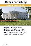 Hope, Change and Recession, Volume VI