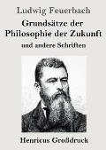 Grunds?tze der Philosophie der Zukunft (Gro?druck): und andere Schriften