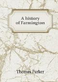 A History of Farmington