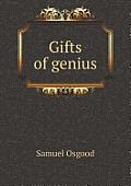 Gifts of Genius