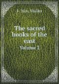 The Sacred Books of the East Volume 2