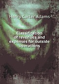 Classification of Revenues and Expenses for Outside Operations