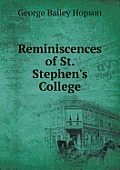 Reminiscences of St. Stephen's College