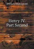 Henry IV. Part Second