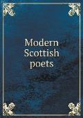 Modern Scottish Poets