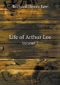 Life of Arthur Lee Volume 2