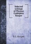 Selected Writings of Thomas Godolphin Rooper