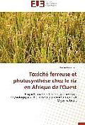 Toxicite Ferreuse Et Photosynthese Chez Le Riz En Afrique de L'Ouest = Toxicita(c) Ferreuse Et Photosyntha]se Chez Le Riz En Afrique de L'Ouest