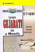 Learn Gujarati in a Month Readwells Indian Language Series