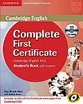 Complete First Certificate for Spanish Speakers Student's Book with Answers [With CDROM]