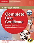 Complete First Certificate for Spanish Speakers for Schools Pack (Student's Book , and First for Schools Test Booklet with Audio CD) [With CDROM]