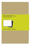 Moleskine Plain Cahier Pocket Kraft Set of 3