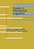 Studies in interactional linguistics