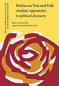Politics as text and talk