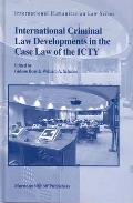 International Criminal Law Developments in the Case Law of the Icty