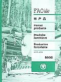 Fao Statistics Series, Also Forestry #37: Yearbook of Forest Products 2002