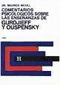 Comentarios Psicologicos - Gurdjief Ouspensky V.1