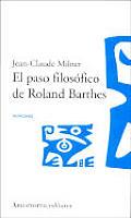 El Paso Filosofico de Roland Barthes