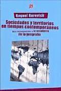 Sociedades y Territorios En Tiempos Contemporaneos