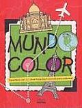 Mundocolor Superlibro Con 112 Divertidas Ilustraciones Para Colorear