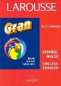 Larousse Gran Diccionario Espanol Ingl