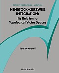 Henstock-Kurzweil Integration: Its Relation to Topological Vector Spaces
