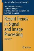 Recent Trends in Signal and Image Processing: Issip 2017