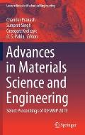 Advances in Materials Science and Engineering: Select Proceedings of Icfmmp 2019