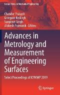 Advances in Metrology and Measurement of Engineering Surfaces: Select Proceedings of Icfmmp 2019